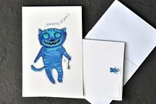 Humorous Cat Greeting Cards for Valentine's Day or any other occasion. 3 designs