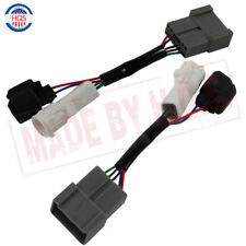LH RH Pair Mirrors Power Heated Upgrade Harness Adapter For 00-01 Ford Excursion