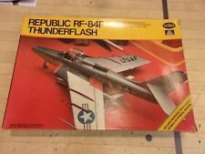 TESTORS 1/72 REPUBLIC RF-84F THUNDERFLASH MODEL PLANE KIT #876 NISB
