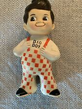 Bob's BIG BOY Restaurant vintage plastic rubber coin piggy bank 1973 9 inches