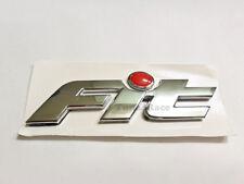 Honda Fit Chrome Red Dot emblem logo badge Sticker decal 01-09 GD1 JDM New