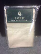 Brand new Ralph Lauren Rue Des Artistes standard Pillowcases  450 Thread count