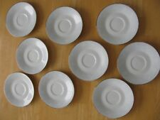 9 Noritake RAVEL #2213 Saucers Only EUC FREE SHIPPING