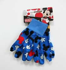 Disney Kids Mickey Mouse Print Gardening Gloves - Blue