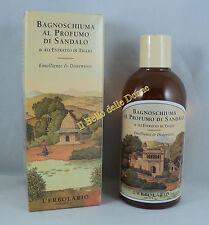 L'ERBOLARIO Bagnoschiuma doccia al profumo SANDALO 250ml bath foam sandalwood