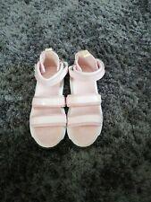 Girls Dr Martins Pink Sandals Size 4