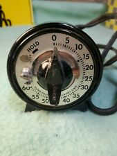 """Darkroom Timer """"Mark Time"""" Mh Rhodes 78100 Series Photography Film Processing"""