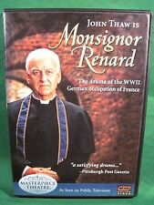 Masterpiece Theatre MONSIGNOR RENARD Region 1 OOP DVD Full Perfect Play Tested