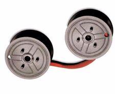 "2 Universal Calculator Seiko Spool ""C"" Wind, Black/Red Long Life Ribbons"