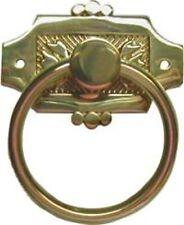 Eastlake Ring Pull - Brass  B1231
