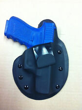 Glock 26 27 33  IWB MTO holster paddle  inside waist band leather kydex CCW