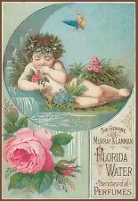 Vintage-Perfume Advert Angelic Murray & Lenman Florida Water Riches Poster Print
