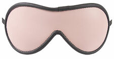 """Blindfold Shades of Lt Pink Genuine Leather """"NEW"""""""
