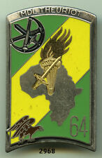 Insigne promotion artillerie , MdL. THEURIOT (64 Pro. ESOA.- EAA. )