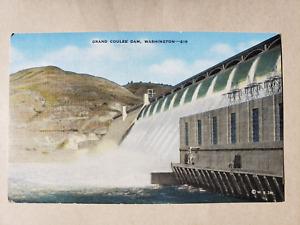 Vintage Postcard - Grand Coulee Dam Series Card # 219 - Western Souvenirs