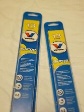 "Valvoline Surge 13"" Wiper Blades. Set of 2. Windshield wipers."