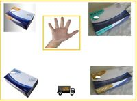 Vinyl Nitrile Disposable Gloves Powder Free Food Safe Latex Free Clear/Blue