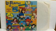 33T Les Feuilletons de La Cinq Chanson Générique Claude Lombard Vinyle LP Ades