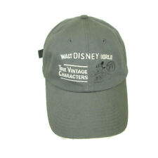 06f19c998 Disney World 71 True Vintage Characters Baseball Cap Hat Mickey Mouse Cotton