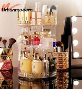 360Grad drehbare Kosmetik Aufbewahrungsbox Make-up Organizer Dresser Schlafzimme