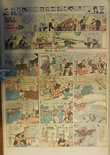 Boob McNutt Sunday by Rube Goldberg from 6/15/1930 Large Rare Full Page Size!