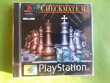 Checkmate II  playstation ps1 play station gioco game nuovo sigillato ita