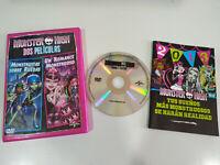 Monster High Monstruitas sobre ruedas Un romance Monstruoso DVD español english