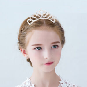 Girls Princess Tiara Crown for Birthday Party,Girl Hair Accessories Crystal Gift