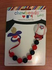 Chewbeads Baby Pacifier Clip MN Minnesota Twins TC Baseball NEW
