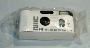U2 No Line On Horizon promotional disposable camera. **Rare**