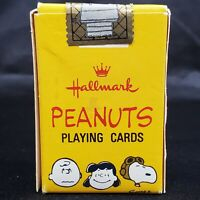 New Sealed Hallmark Peanuts Snoopy Miniature Playing Cards Deck Charlie Brown
