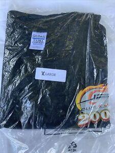 Vintage 2003 Dale Earhardt Jr Clube E Jr Black Double Sided T Shirt NEW SIZE XL