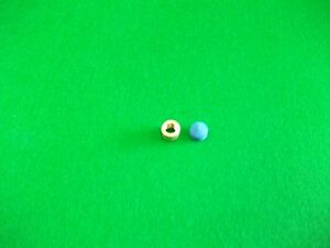 9mm Brass Ferrule for Snooker/Pool Cue & Elkmaster Cue Tip