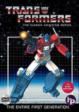 Transformers . Classic Animated Series . Season 1 2 3 4 . Generation 1 . 13 DVD
