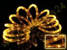 LED Lichterschlauch gelb Schlauch Lichtschlauch Beleuchtung 2 -50 meter außen