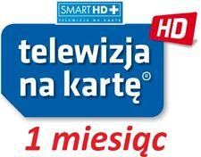 1m. TNK  NC+ SMART HD +  doladowanie Aufladung Prepaid TVN Telewizja Na Karte TV