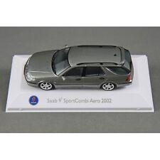 SAAB MUSEUM SAAB 9-5 SPORT COMBI/ESTATE 2002 in GREY 1/43 MODEL CAR