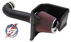 K&N 57-1542 COLD AIR KIT 2008-10 DODGE CHALLENGER CHARGER 5.7L 6.1 V8 CARB LEGAL