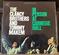 The Clancy Brothers and Tommy Makem - In Person At Carnegie Hall - LP