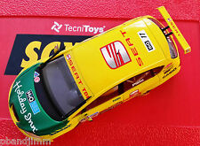 NEW SCX DIGITAL or ANALOG #11 Seat Leon WTCC Body for Replacement - Lights Work