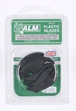 ALM PD115 15 Replacement Plastic Blades for Electric Hover Mowers B&Q, JCB