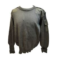 MILITARY CREW NECK OR V-NECK COMBAT JUMPER MENS ARMY PULLOVER