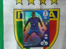 Adrenalyn Russia 2018 panini TOP MASTER POGBA LIMITED EDITION 465