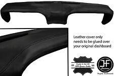 Costura negra Cubierta Superior Tablero Tablero De Cuero adapta Ford Mustang 1969-1970