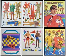 Mattel's Big Jim and Big Jack Play Figures with sports outfits. - 1976