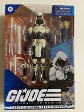 GI Joe Classified Exclusive ARTIC MISSION STORM SHADOW In Hand