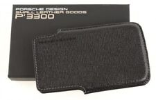 PORSCHE DESIGN iPhone Case Etui Borsa Nero