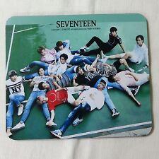 Seventeen Photo Mouse Pad KPOP Star Gift New  RANDOM