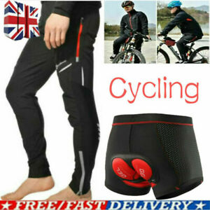 Men's Cycling Windproof Trousers Shorts MTB Mountain Bike Riding Bicycle Pants