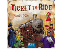 Ticket To Ride Board Game Strategy Social Skills Focus Thinking Creative Party